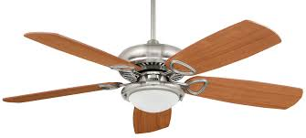 mr2 bn brushed nickel fan comes with 52xcr mh combination cherry mahogany