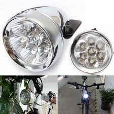 Headlamp Bicycle Light Retro Bike Front Light Vintage Bicycle Headlight Led Lights