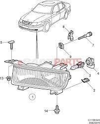 Saab 9 3 Fog Light Bulb Replacement Saab Fog Lights Wiring Diagram Wiring Diagram