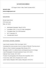College Application Activities Resume Template Lovely Resume 40 Gorgeous College Admission Resume