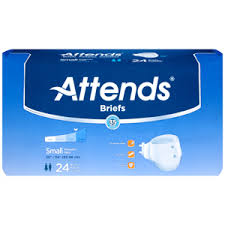 Attends Brbx15 Extra Absorbent Breathable Briefs Small 96 Case