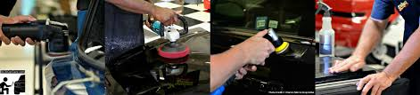 the many forms of paint correction taught by christopher brown of ocdcarcare during auto detailing training