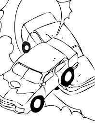 Coloring pages pinewood derby cars crash derby cars coloring pages
