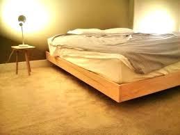 platform floating bed plans free a diy bedroom frame reddit