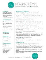 Using Color In A Resume Using Color On Resume Under Fontanacountryinn Com
