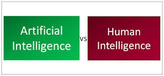 Animal Speed Comparison Chart Artificial Intelligence Vs Human Intelligence 5 Useful