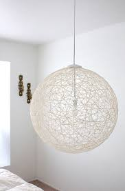 my finished diy pendant light via made by girl