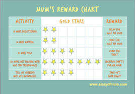 How Am I Doing Chart How Am I Doing With My Mums Reward Chart Story Of Mum