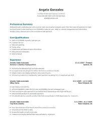Sales Associate Resume Example Resume Sample Web