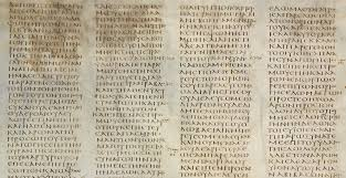 Whats Missing From Codex Sinaiticus The Oldest New