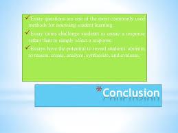 essay question assessment 25