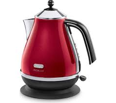 Currys Small Kitchen Appliances Buy Delonghi Micalite Kbom3001r Jug Kettle Red Micalite