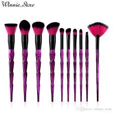 factory direct dhl free makeup brushes set starry sky handle eye shadow eyelashes eyebrow lipstick eyeliner cosmetic tool brush kits makeup cases makeup