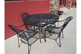 expanded metal patio table