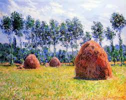 claude monet 1840 1926 haystacks at giverny oil on canvas 1884