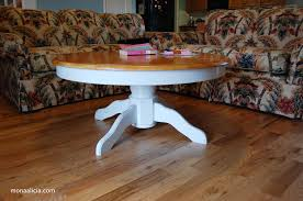 awesome round pedestal coffee table coffee table diy round pedestal coffee table works in progress