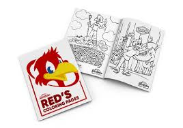 Images of flowers, umbrellas, baby animals, and kites dance all these spring coloring pages are free and can easily be printed from your home computer. Kids Red Robin