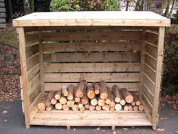 garden structures   Log Stores and Compost Bins  Ashford Fencing and  Gardening Services