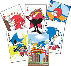 It's sonic the hedgehog's 30th anniversary this year and to celebrate, sega's longtime mascot is getting his own card game. Amazon Com Sonic Classic Playing Cards Goodies Toys Games
