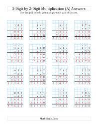 Multiplication Worksheets On Graph Paper Magdalene Project Org