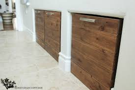 diy laundry room crates by the wood grain cote