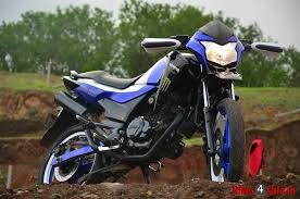 Slide 7 Hero Karizma Zmr Modified As A Dirt Bike By Giving