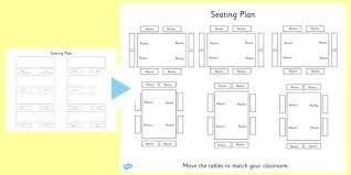 Seating Chart Maker For Teachers Chart Template Classroom Seating Arrangements Plan Ideas