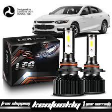 2016 Chevy Malibu Fog Light Kit Details About Led Headlight Kit 9005 6000k White Bulbs High Lo Beam For 2016 2018 Chevy Malibu