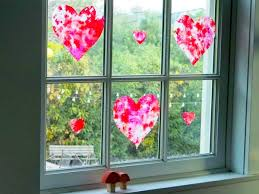 Wax Paper Flower Wax Paper Stained Glass Hearts The Magic Onions