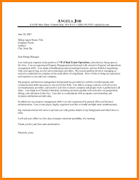 Property Manager Cover Letters Tutlin Stech Mla Format
