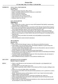 Cdl Owner Operator Sample Resume Interesting Resume Truck Driver Resume Examples Truck Driver Resume Sample