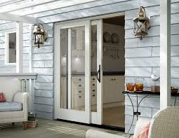 Glass Door Steel Entry Doors Sliding Patio Doors With Built In