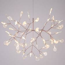 Ceiling Light With Plant Details About New Modern Plant Pendant Light Led Chandelier Lighting Branch Ceiling Lamp