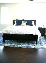 8x10 room with queen bed rug size for king bed under queen area guide floors what