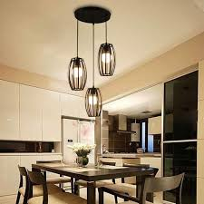 details about retro vintage black pendant light chandelier lighting kitchen bar ceiling