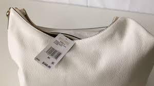 low new michael kors isabella large convertible white leather shoulder handbag df7b8 6597c