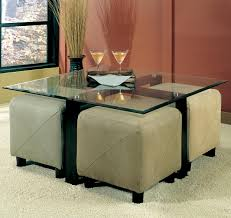 coffee table w ottomans