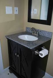 stylish modular wooden bathroom vanity. Small Sized Black Bathroom Vanity Designed With Modular Shaped Sink And Metal Faucet Stylish Wooden M