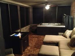 basement hot tub. My New Screened In Patio / Hot Tub Room Basement I