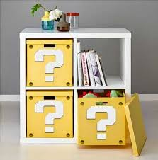 rec room furniture and games. how to make a super mario question block shelf from ikea furniture downloadable printable roomgame rec room and games