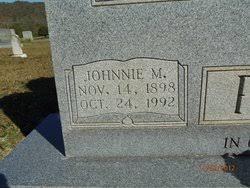Johnnie McClure Pace (1898-1992) - Find A Grave Memorial