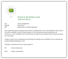 Business Sales Memorandum Template 650562 Business Memos Format