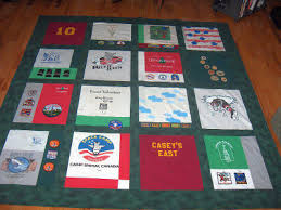 How To Make A Tshirt Quilt Easy Â« How To Make A Quilt! & Making a quilt out of T-shirts - How to make a Tee Shirt quilt Adamdwight.com