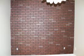 Painting Fake Brick Paneling Faux Brick Wall Panels