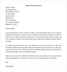 termination letter template 11 employment termination letter templates free sample example