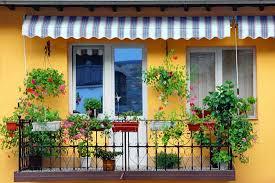 balcony gardens. Balconies Are Great For Trailing Plants. Balcony Gardens