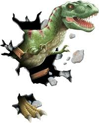 t rex through the wall peel and stick dinosaur wall sticker same day shipping on dinosaur bedroom wall stickers with the 29 best boys room dinosaur theme images on pinterest child