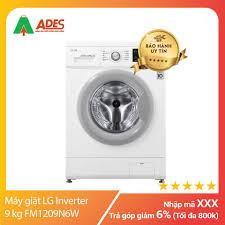 Máy giặt LG Inverter 9 kg FM1209N6W | Chính hãng, Giá rẻ