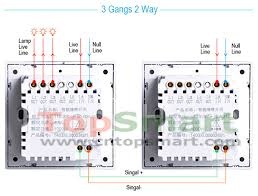 uk standard 3 gang 1 way 2 way tempered glass panel wall light 2 way touch switch diagram