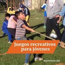 Festival de juegos recreativos animo al tena e ibarra secretaria. Juegos Recreativos Para Jovenes Muchas Ideas Y Mas